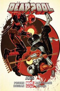 Deadpool - Axis, tom 8 - okładka