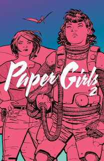 Paper Girls #02 - okładka