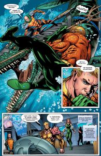Aquaman #01. Utonięcie - plansza