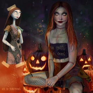 Sally - Miasteczko Halloween