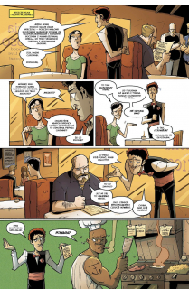 Chew #08. Przepisy rodzinne - plansza