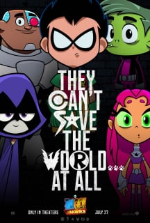 Teen Titans GO! to the Movies - plakat