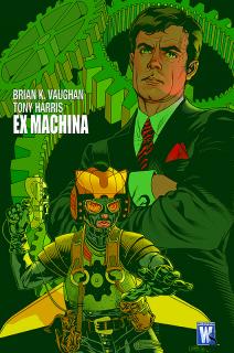 Ex Machina, tom 1 - okładka