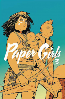 Paper Girls, tom 3 - okładka