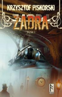 Zadra, tom 1 - okładka