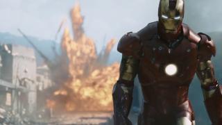 Iron Man (2008) - nominacje w kategoriach Najlepsze efekty specjalne i Najlepszy montaż dźwięku