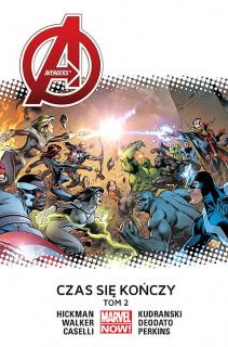 Avengers – Czas się kończy, tom 2 - okładka