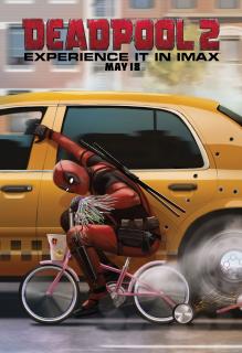 Deadpool 2 - plakat IMAX - pierwsze miejsce w konkursie