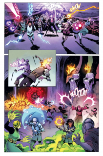 Rat Queens tom 3. Demony - plansza 3