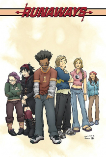 Runaways, tom 1 - okładka