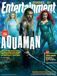 Aquaman - okładka Entertainment Weekly
