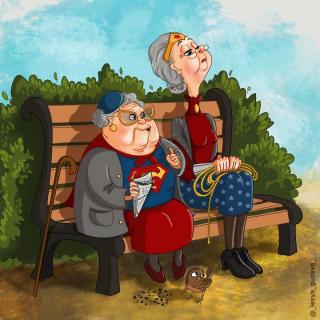 Lesja Gusewa - emerytura herosów