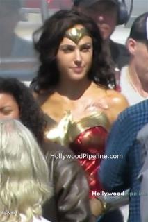 Wonder Woman 1984 - zdjęcie z planu
