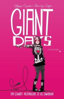 Giant Days, tom 4 - okładka