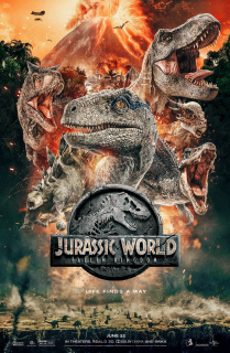 Jurassic World - oficjalny fanowski plakat