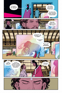 Paper Girls, tom 4 - plansza