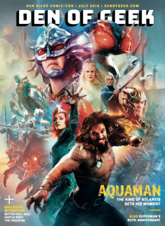 Aquaman - okładka Den of Geek