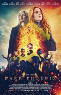 Mroczna Phoenix - fanowski plakat