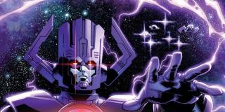 Galactus - wszechpotężny złoczyńca, potencjalny następca Thanosa w MCU; ostatni ocalały mieszkaniec pradawanej galaktyki, który pożywia się energią planet; może teleportować się poprzez Wszechświat, miota potężnymi ładunkami energii, posiada zdolności telepatyczne i telekinetyczne