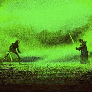 I Will Not Be The Last Jedi - fragment plakatu