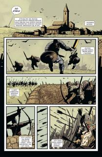 Ludzie Północy: Saga anglosaska - plansza