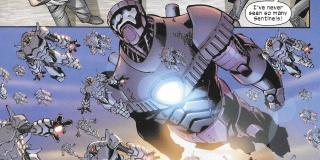 Sentinele - znane już z filmów o X-Men potężne roboty mające na celu zabijanie mutantów