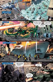 Aquaman #02. Nadpływa Czarna Manta - plansza