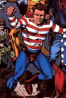 Pat Dugan aka Stripesy