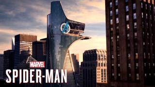 Avenger's Tower w grze Marvel's Spider-Man