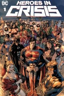 Heroes in Crisis - warianty okładek