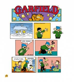 Garfield. Tłusty koci trójpak #01 - plansza