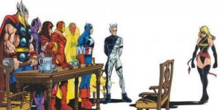 Gdy w 1998 roku Danvers dołączyła do Avengers jako Warbird, zmagała się ona z poważnym problemem alkoholowym - ostatecznie w powrocie do formy pomógł jej również wcześniej uzależniony Tony Stark