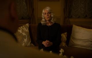 """Gdy Fisk stara się odzyskać obraz od pani Falb, ta mówiąc o nazistach używa określenia """"ludzie jak ty"""" - w filmie """"Avengers"""" Loki został porównany do nazistów za pomocą tej samej frazy"""