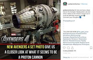 Avengers 4 - działo protonowe