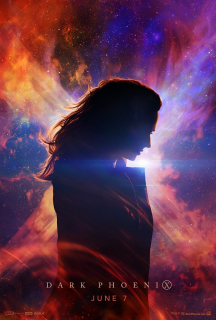 Mroczna Phoenix - plakat