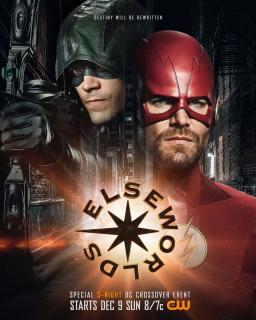 Arrowverse crossover Elseworlds - plakat