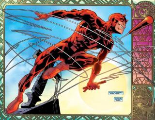 """Kryzys wiary Matta Murdocka został bodaj najpełniej wyrażony w innej serii komiksowej, """"Guardian Devil"""", której jednym z autorów jest Kevin Smith"""