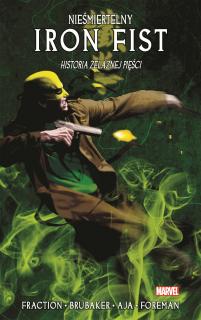 Nieśmiertelny Iron Fist ,tom 3 - okładka