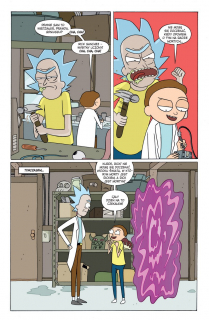 Rick i Morty. Tom 1 - plansza