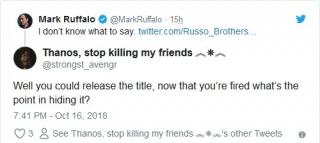 Wpisy skierowane do Marka Ruffalo