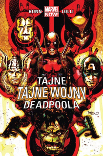 Tajne tajne wojny Deadpoola - okładka