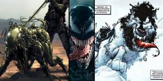 Uciekający ze szpitala Venom łączy się z psem rasy papillon - w komiksach niejednokrotnie widzieliśmy, jak symbionty przenikały do ciał psów (Lasher we współczesnych komiksach o Carnage'u czy próbujący przeżyć w Arktyce Venom)