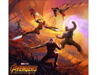 Avengers: Wojna bez granic - grafika koncepcyjna