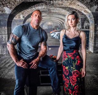 Hobbs and Shaw - Dwayne Johnson i Vanessa Kirby