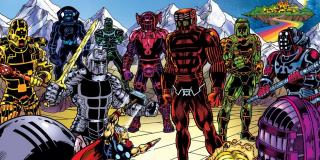 Celestianie - komiksy Marvela