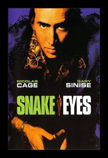 Oczy węża - plakat