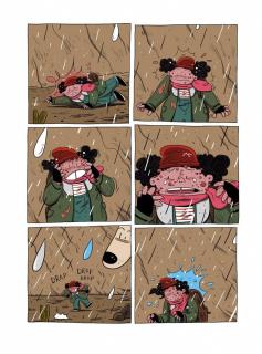 Bajka na końcu świata #03. Ożywczy deszcz - plansza