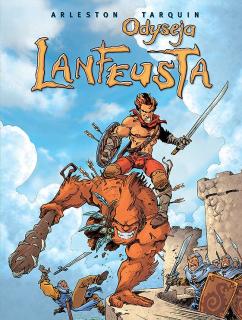 Odyseja Lanfeusta, tom 1 – okładka