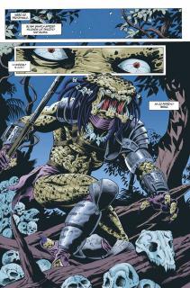 Predator. Betonowa dżungla i inne historie - plansza