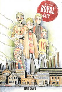 Royal City. Tom 1 - okładka